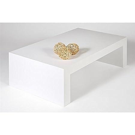 Mobilifiver First H30, mesa de centro, de madera, fresno blanco, 90x 54x 30cm