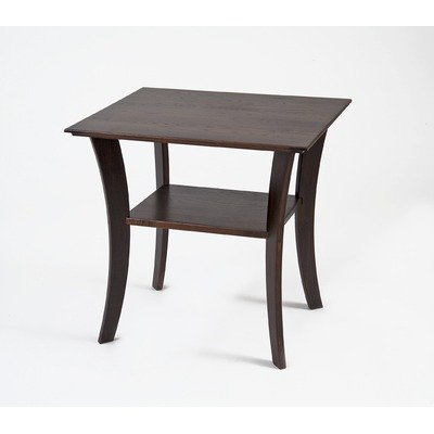 Image of Contemporary Rectangular End Table in Chestnut (B005H2L7B2)