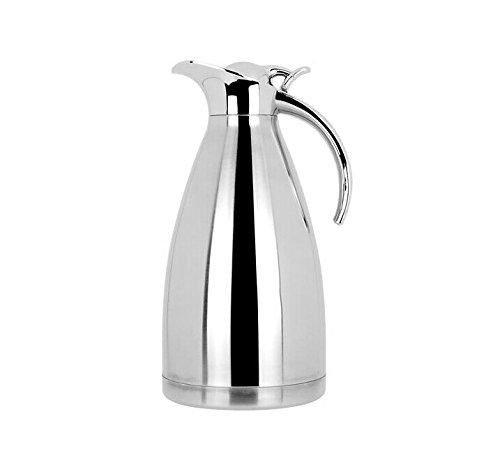 J&D Life 60-Ounce Stainless Steel Vacuum Jug Flask 2 Liter Ks02