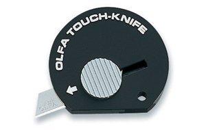 Olfa Touch Knife Tk-4B Color Black Model 9537
