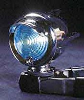 Blue Bullet Taillight with Wings Bicycle Light