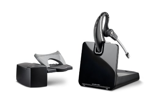 Plantronics CS530 Office Wireless Headset with Extended Microphone & Handset Lifter (Cs55 Plantronics With Lifter compare prices)
