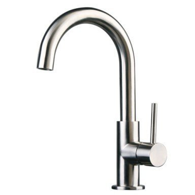 Stainless Steel Contemporary Kitchen Faucet Brushed Finish Keith T Wagnerter