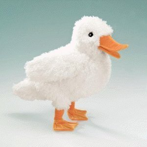 Folkmanis Small Duck Puppet from Folkmanis