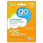 AT&T $25 Prepaid Refill Card