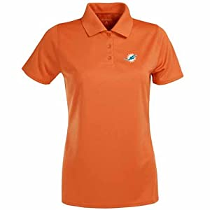 Miami Dolphins Ladies Exceed Polo (Team Color) by Antigua