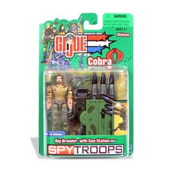 Picture of Brian's G.I. Joe Spytroops: Big Brawler with Gun Station Figure (B000GL1NH2) (G.I. Joe Action Figures)
