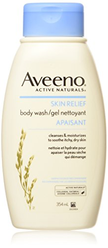 Aveeno Active Naturals Skin Relief Body Wash with Natural Colloidal Oatmeal, 12-Ounce Bottles (Pack of 3)