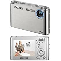 Samsung NV4 8.1MP Digital Camera with 3x Optical Zoom (Silver)