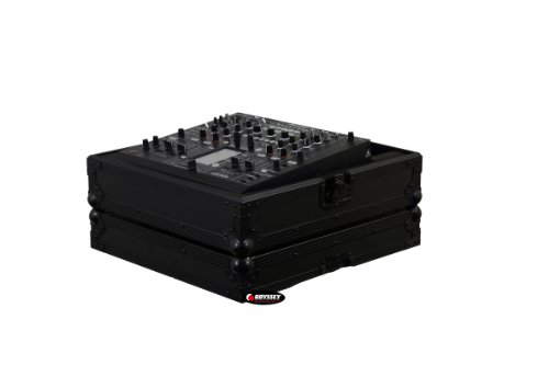 Odyssey Fzdjm2000Bl Flight Zone Black Label Pioneer Djm-2000 Dj Mixer Case