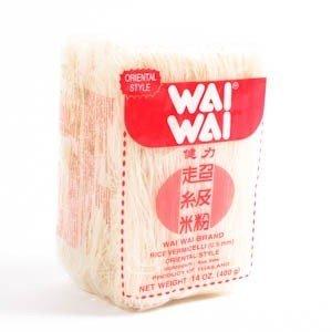 Reisnudeln WAI WAI Rice Vermicelli 400g Reis-nudeln