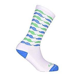 Sockguy Herren Socken grün grün S/M, Herren, Headstrong 2, S/M
