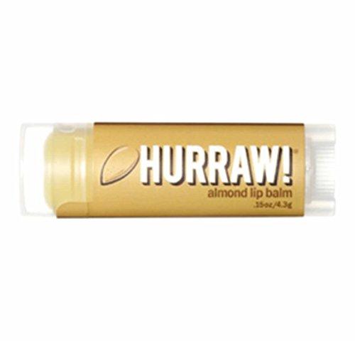 Hurraw - Baume à Lèvres à l'Amande - 4,3g