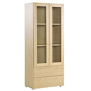 Tall Bookcase SoHo Combination Unit Doors/Draws Office Furniture