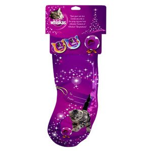 Whiskas Christmas Cat Stocking Treats and Toy