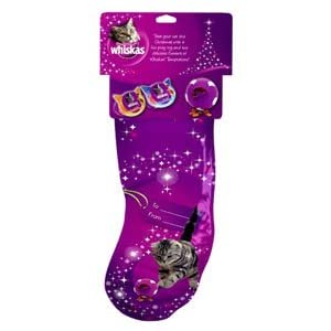 Whiskas Christmas Cat Stocking