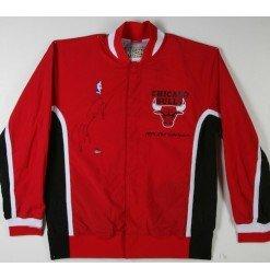 Michael Jordan Signed 1993 Authentic Warm-Up Jacket - Upper Deck Authenticated - LE...