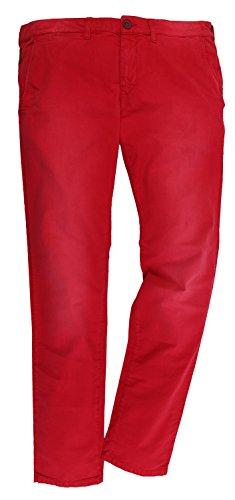 Armani Jeans uomo chino pantaloni rosso V6P20CG - 4L rosso W50