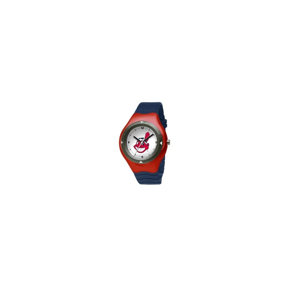 Cleveland Indians Mens MLB Prospect Big Kids Watch (Polyurethane Band)