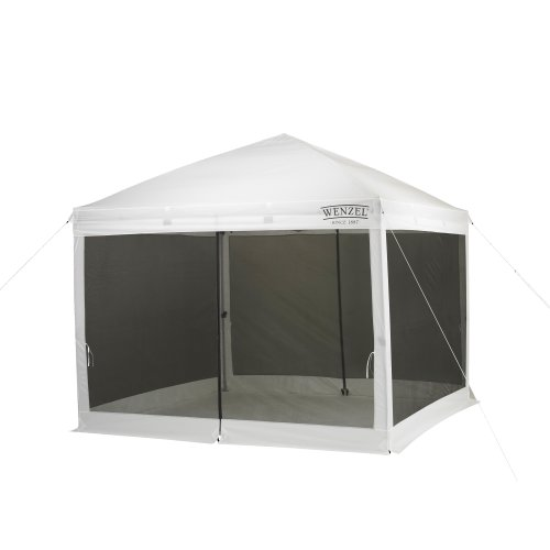 Wenzel Smartshade Screenhouse (White, 10 X 10-Feet) back-390173