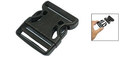 Schnellverschluss Ersatz-Schnalle 5cm schwarz für Rucksack Kunststoff seitlich öffenbar von Amico auf Gartenmöbel von Du und Dein Garten