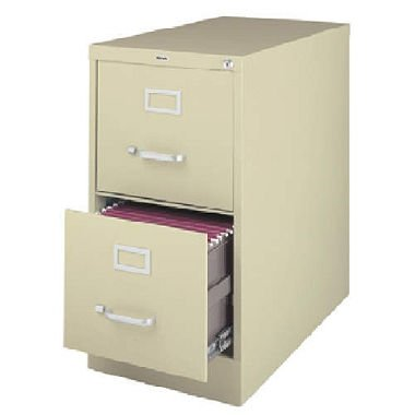 2-Drawer Commercial Letter Size File Cabinet Finish: Putty