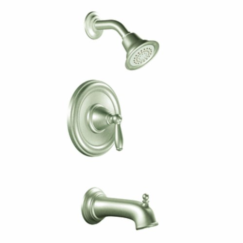 Moen T2153EPBN Brantford Posi-Temp Tub and Shower Trim Kit without Valve, Brushed Nickel