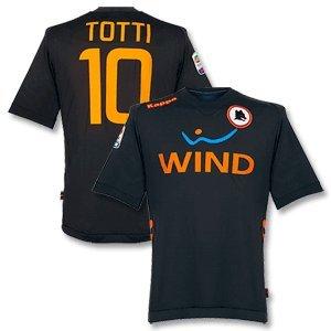 11-12 AS Roma 3rd Jersey + Totti 10