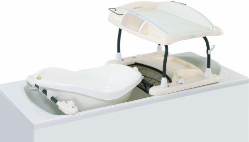 B b confort vaschetta ergonomica con tappo per lo for Baignoire bebe adaptable baignoire