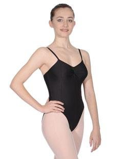 Roch Valley thin strap camisole nylon/lycra dance leotard (2 9-10yrs, PURPLE)