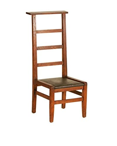 French Prayer Chair II, Brown