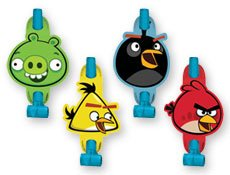 Angry Birds Blowouts 8 per pack