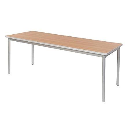 Gopak Enviro Indoor Beech Effect Rectangle Dining Table 1800mm 710(H) x 1800(W) x 750(D)mm