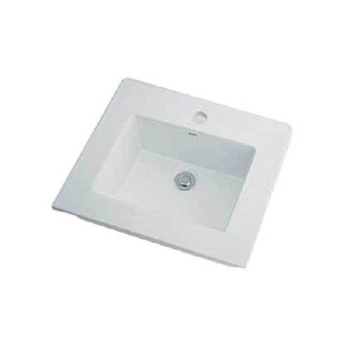 カクダイ リュウジュ 角型洗面器 493-093