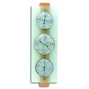 Weather Station Domatic Beech Glass TFA 20106705