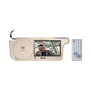 Pyle PLDVSL7T 7 TFT Left Side Sunvisor with DVD Player (Tan Color) Pyle PLDVSL7T 7...