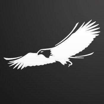 Wild west Eagle... White (10 X 5.1 inch) W7X65