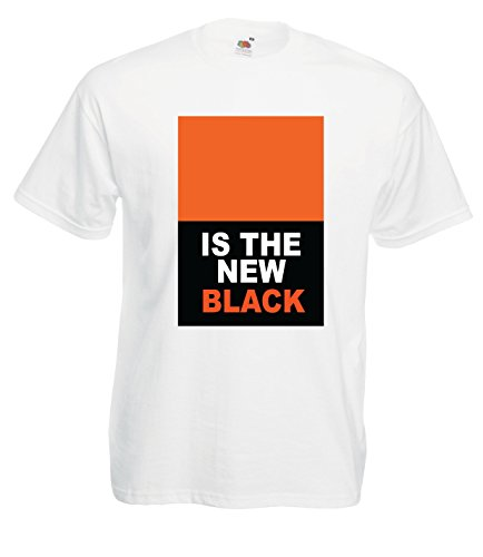 Settantallora - T-shirt Maglietta J1188 Orange Is The New Black Taglia XL