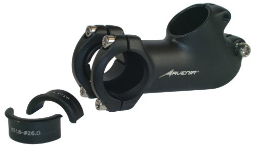 Avenir 40 Degree Rise Fit Stem with Handlebar Shims