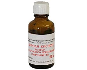 Boric Acid 3% Solution 25 Ml