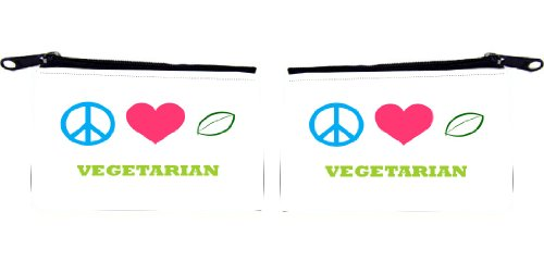 Rikki KnightTM Peace Love Designs Design Scuba Foam Coin Purse