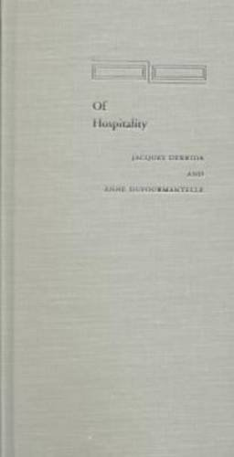 Of Hospitality (Cultural Memory in the Present)