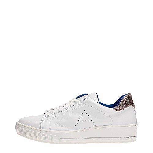 Albano 7336 Sneakers Donna Pelle Bianco Bianco 36