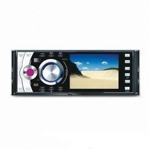 3.5-inch Digital Screen 1 Din In-Dash Car DVD Player Detachable Panel for Security - TV - RDS - SD - USB