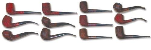Saronno Italian Pipes P125 Briar Wood Pipes - 1