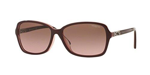 vogue-gafas-de-sol-vo-5031sf-238714-parte-superior-oscuro-burdeos-rosa-transparente-58-mm