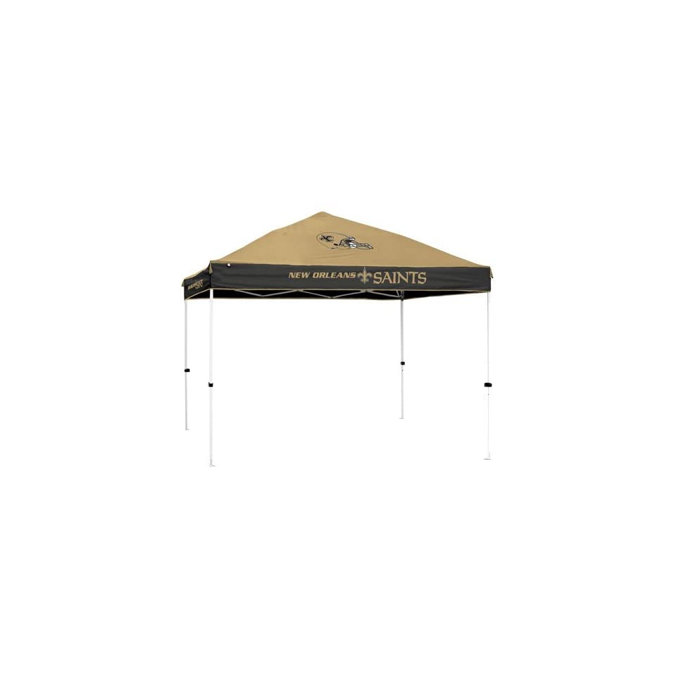 New Orleans Saints NFL First Up 10x10 Straight Leg Canopy