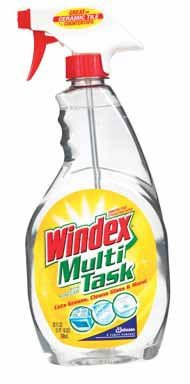 Windex Multi-Surface Cleaner, Vinegar, 26 Ounce (Pack Of 8)