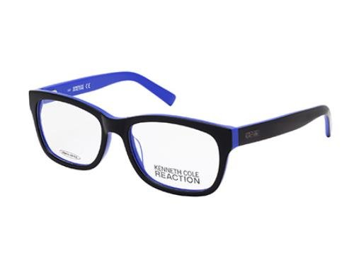 kenneth-cole-reaction-montatura-occhiali-da-vista-kc0744-001-nero-lucido-54mm