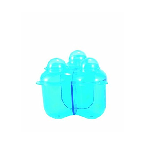 Difrax Baby Formula 3 Compartments Storage Container (Blue)